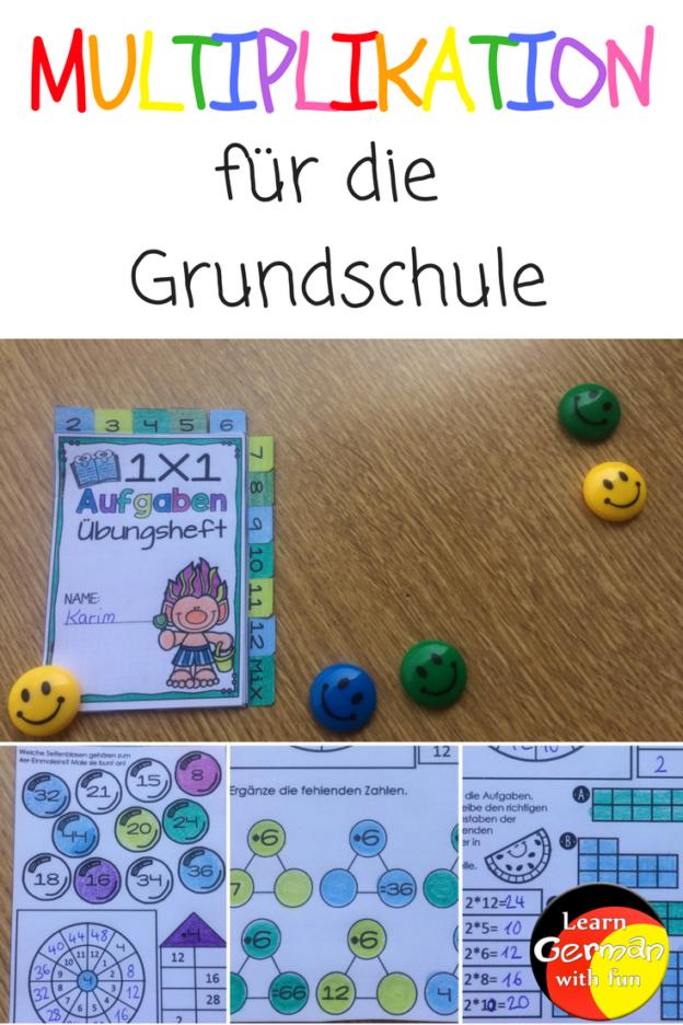 Multiplikation für die Grundschule