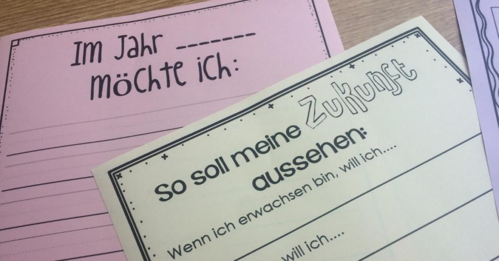 Kopiervorlagen für Zeitkapsel in der Schule