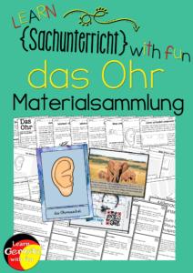 Unterrichtsmaterial Download das Ohr