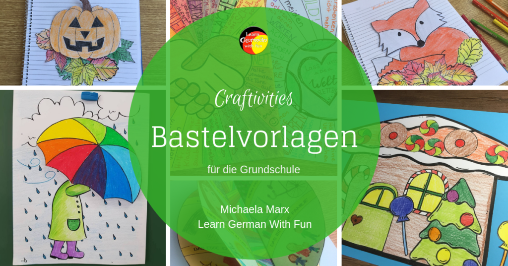Bastelvorlagen für die Grundschule Blogpost