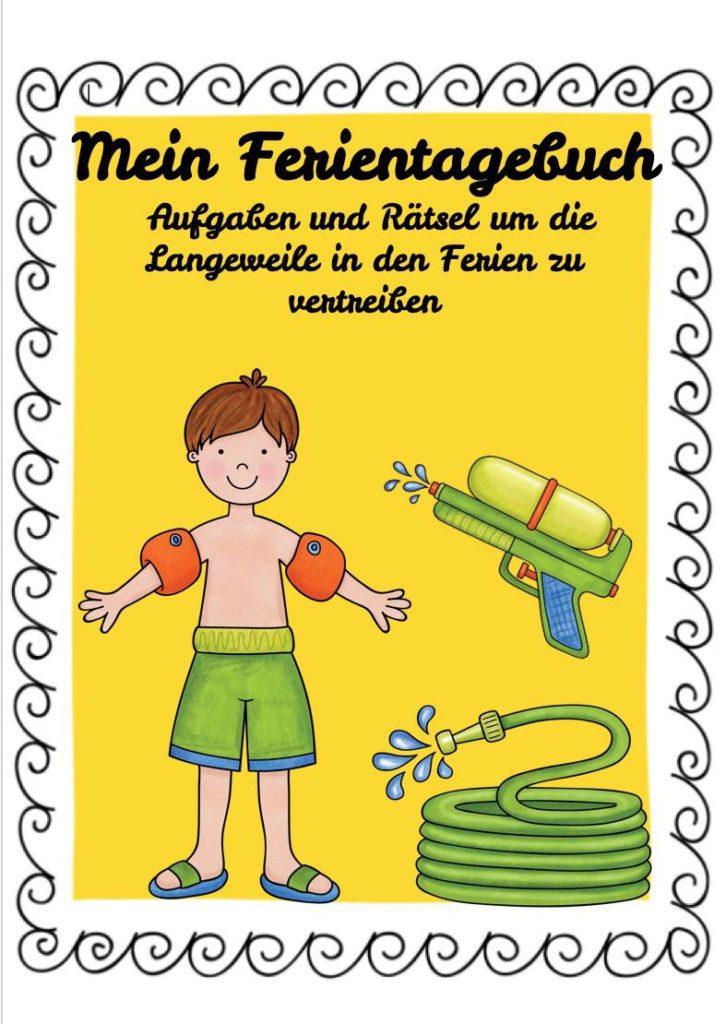 Ferientagebuch für die Grundschule