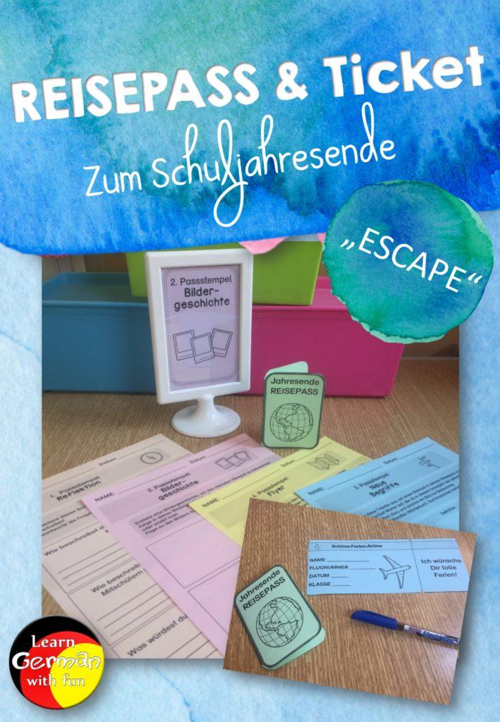 Escape Room für die Schule als Übung vor den Sommerferien