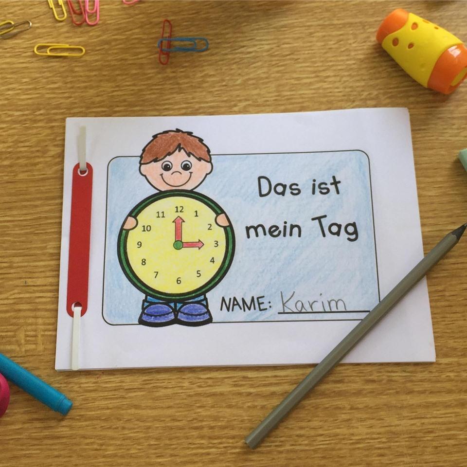 Tagesablauf Übungsheft für die Grundschule Grundschule