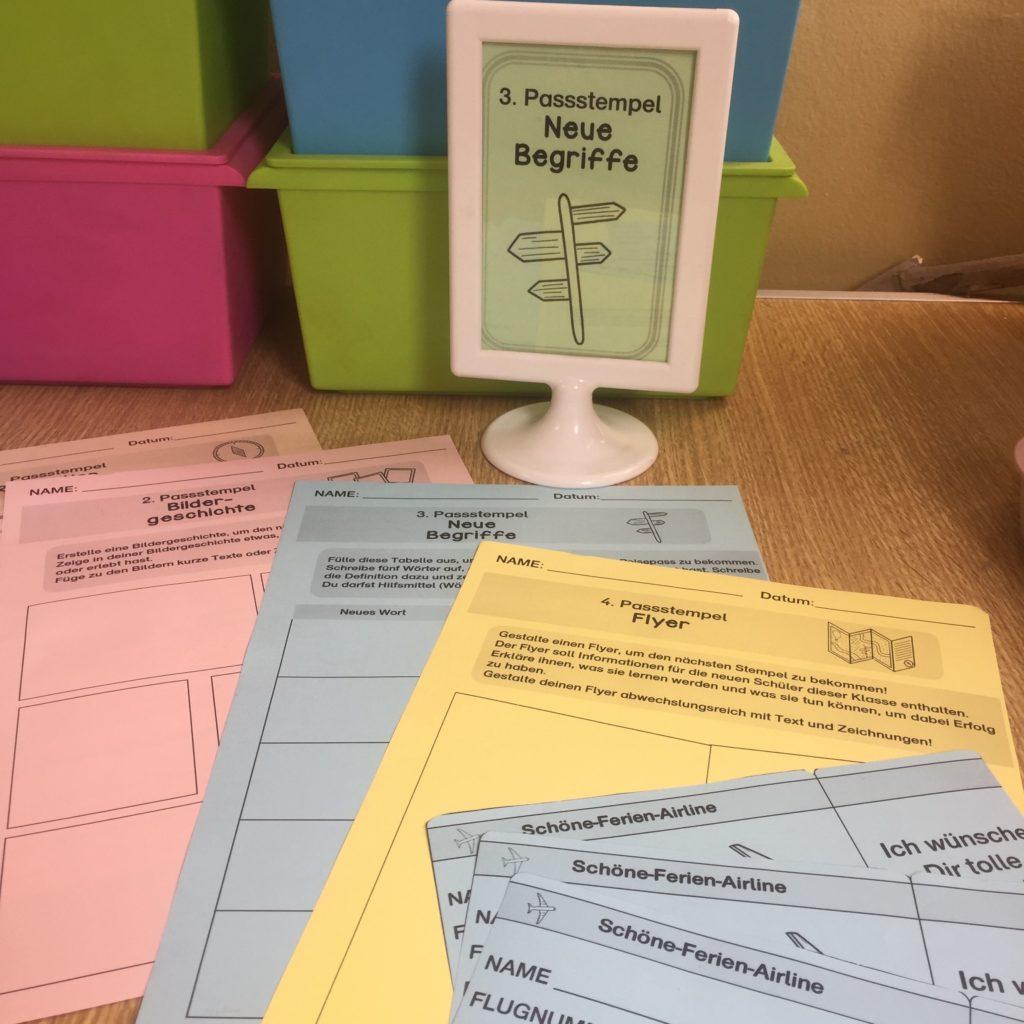 Material für die letzte Stunde vor den Sommerferien - Escape Room Material für die Schule