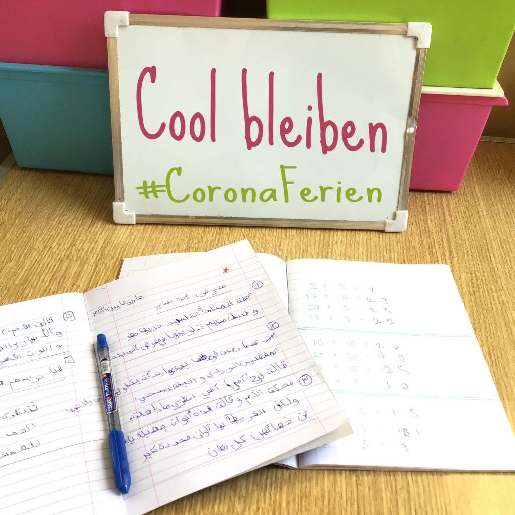 Cool bleiben #CoronaFerien Tipps für das Homeschooling